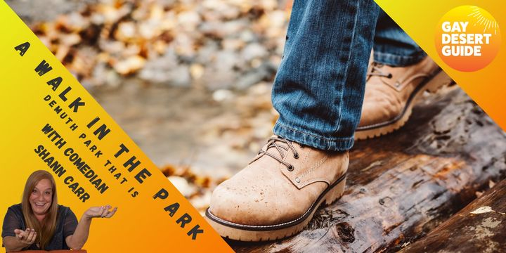 A Walk In the Park With Comedian Shann Carr... Demuth Park that is!