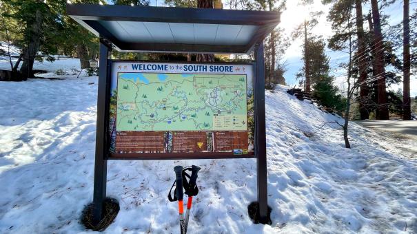 Big Bear Town Trail Map