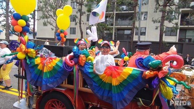 Disney Pride Wagon