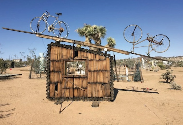 Noah Purifoy Outdoor Art Assemblage