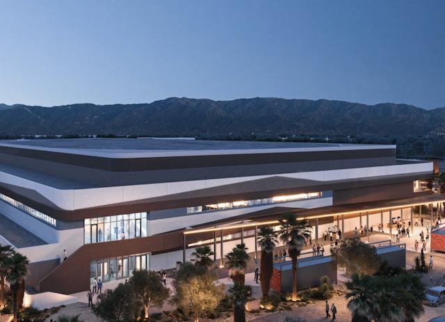 Coachella Valley Arena Rendering