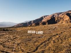 Desert X Indianland Aerial