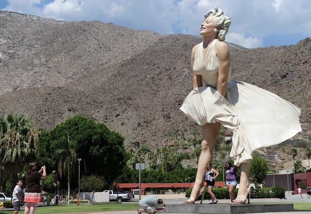 Forever Marilyn Backlash
