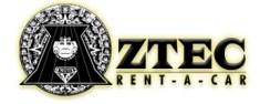 Aztec Rent a Car Logo