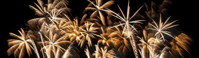 Fireworks Black Gold