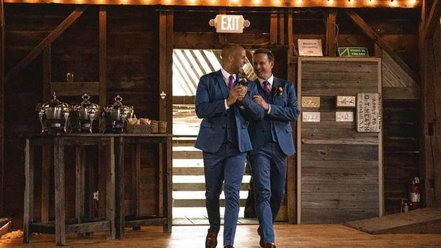 Gay Wedding Jody Reynard David Bushman