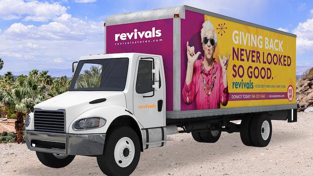 Revivals Truck