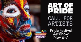 2021 Art of Pride Call for Artists