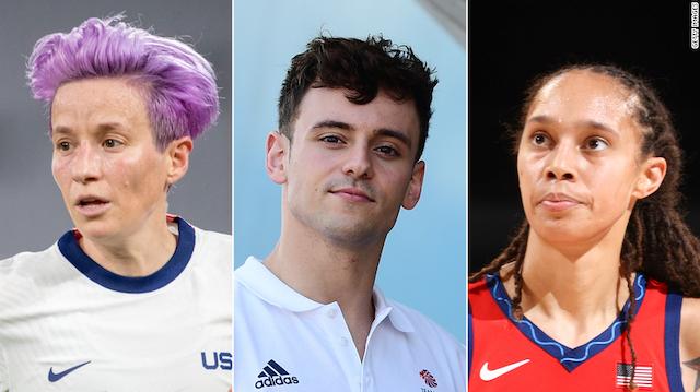 3 LGBTQ Olympians 2021