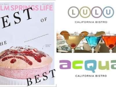 Lulu Acqua Best Palm Springs Life 2021