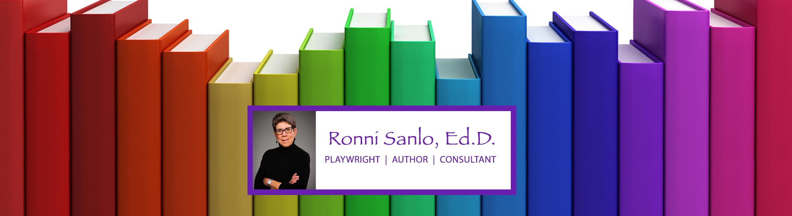 Ronni Sanlo Books Header