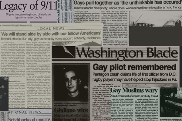 Blade 9-11 Newspaper Collage