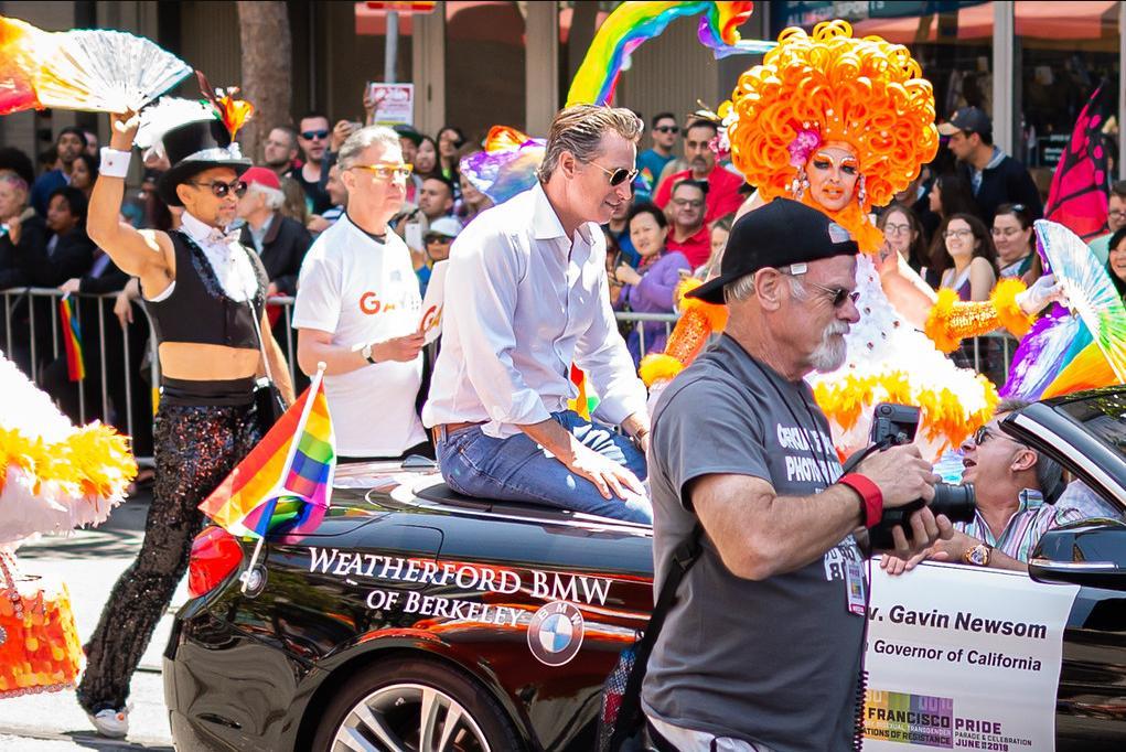 Newsom SF Pride 2019