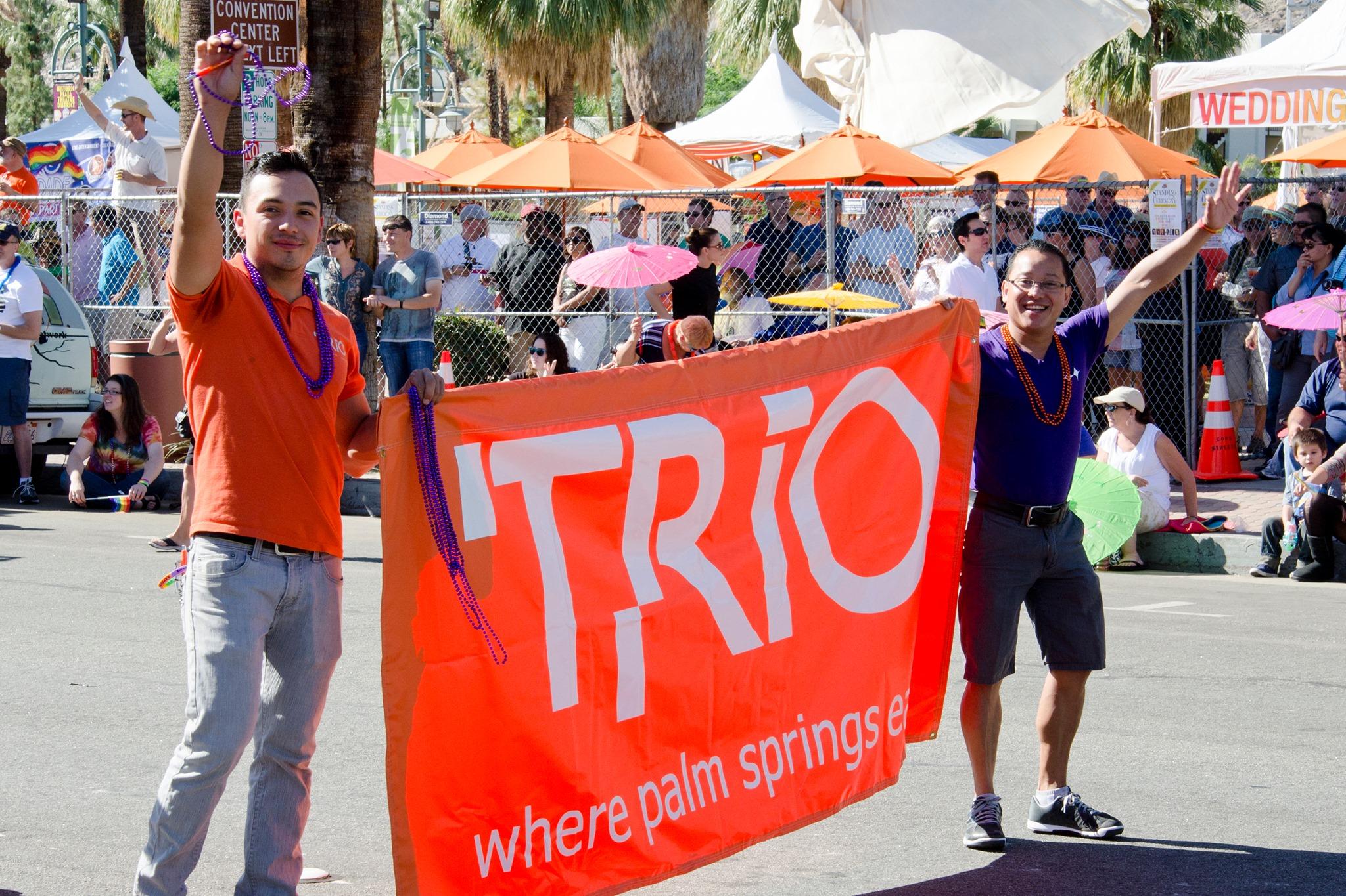 Trio Pride Parade Party
