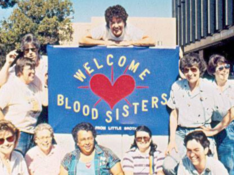 Welcome Blood Sisters