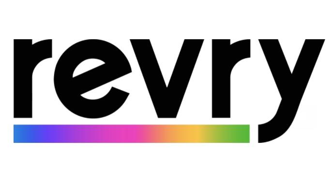 Revry Logo Rainbow Line