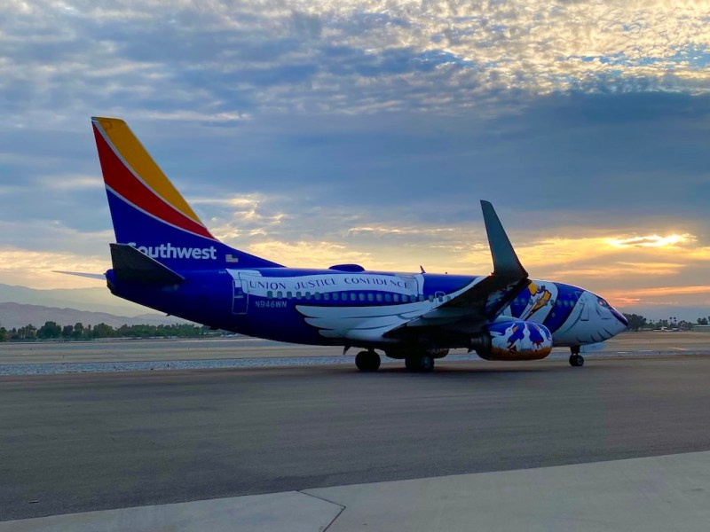 Southwest Airlines Palm Springs International Tarmac