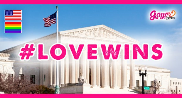 #LoveWins EEUU aprueba el matrimonio igualitario
