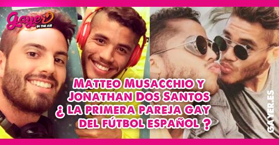 Matteo Musacchio y Jonathan Dos Santos