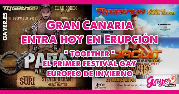 TOGETHER FESTIVAL GRAN CANARIA GAY