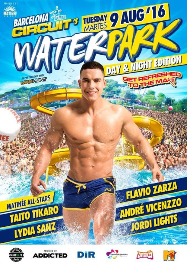 Circuit festival 2016 Water Park Day