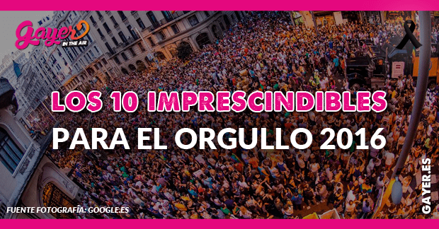 10 cosas que deberías llevarte al Orgullo de Madrid