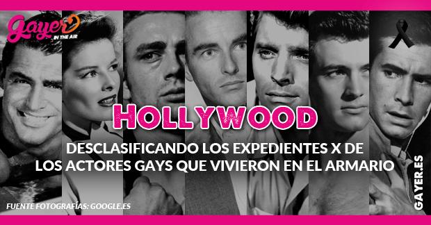 Hollywood - La lista de los actores gays que vivieron en el armario