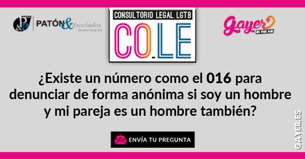 CONSULTORIO LEGAL LGTB VIOLENCIA DE GÉNERO