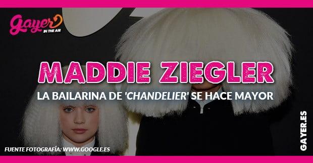 Maddie Ziegler la bailarina de SIA se hace mayor