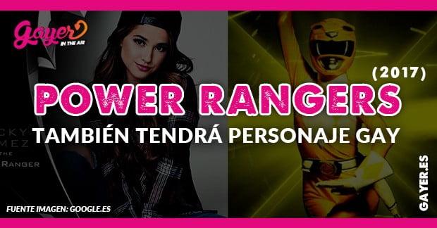 Power Rangers mostrará primer superhéroe gay, la Yellow Ranger