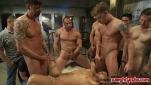 Horny stepfather rough doggy style