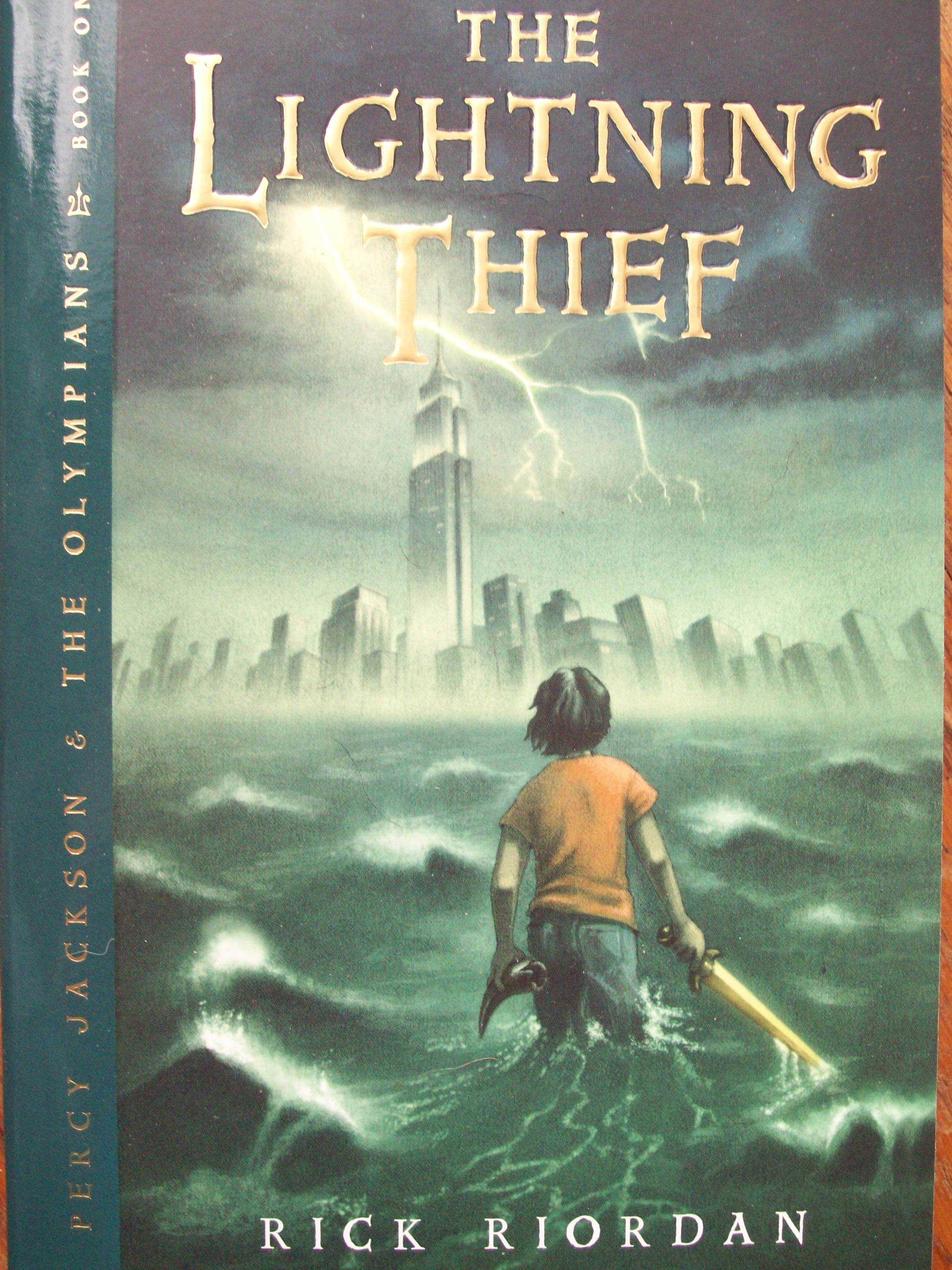 Percy Jackson Amp The Olympians The Lightning Thief By Rick