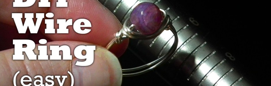 New Video! – How to Make a Wire Wrapped Ring in Under 3 Minutes