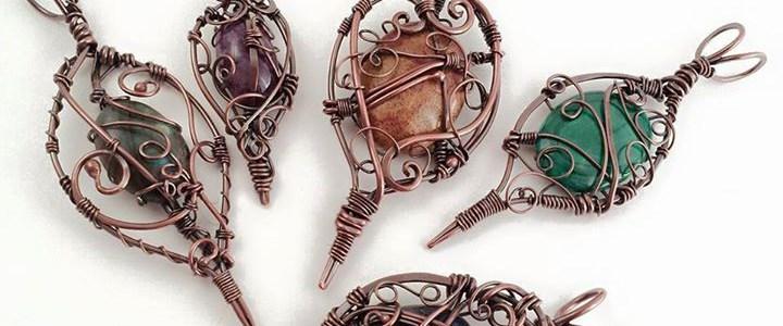 Copper Daggers & Gems
