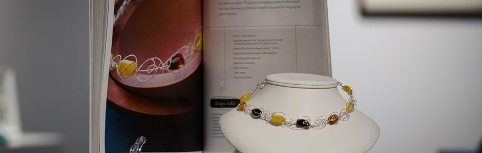 Freeform Wire Art Jewelry – Book launch a success!