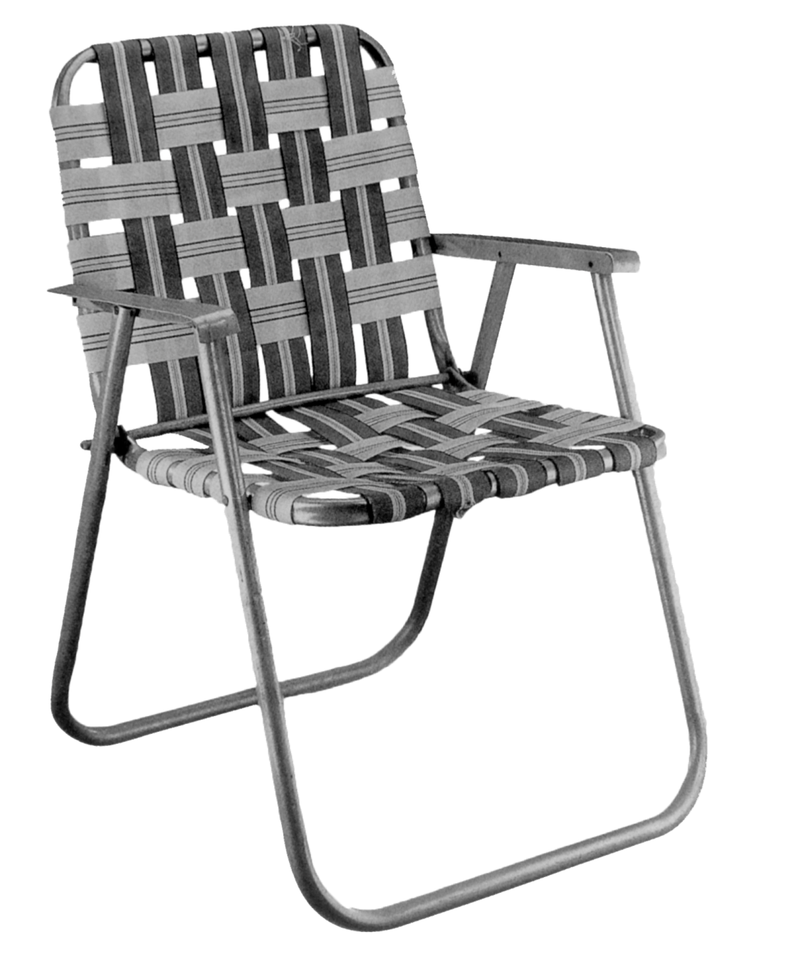 webbing for aluminum folding chairs tied to chair max bill ulmer hocker 1954 cadillac