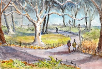 """""""Walk in the Park"""" - [SOLD]"""