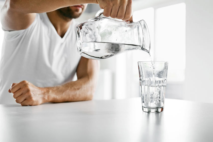 Water: Drink some!