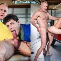 MEN - Drill My Hole - The Caddy And The Daddy Part 1: Bareback - Kaleb Stryker & Dale Savage