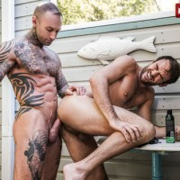 Lucas Entertainment - Ass-Hammering Hardware, Scene 2 - Dylan James Uses A Fuck Machine On Max Adonis