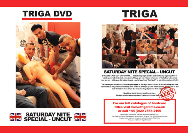 Gay porn star Andy Lee in Saturday Nite Special: Uncut from Triga Films