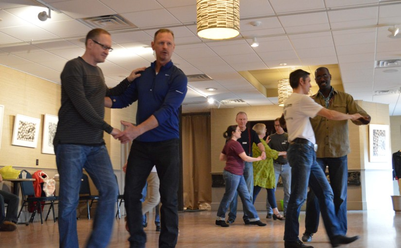 Photo from Stomp 2015 West Coast Swing workshop with Alan Gaskill