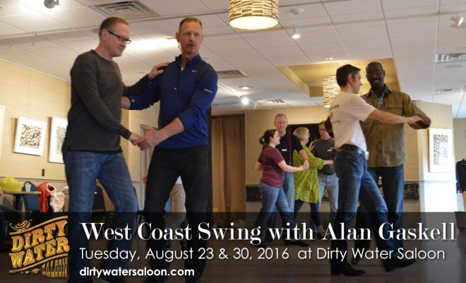 Learn West Coast Swing with Alan Gaskell