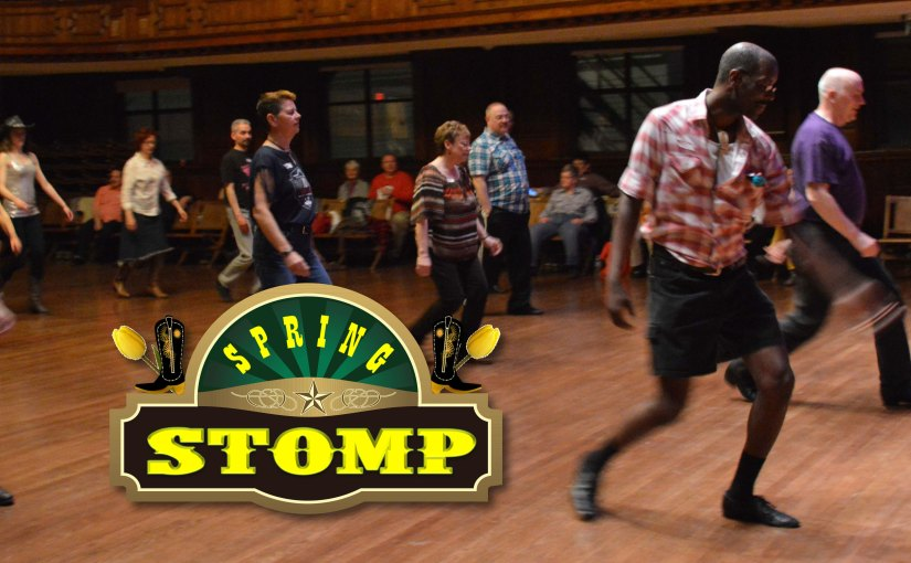 Spring Stomp is coming up! April 27-29 – Get yer tickets!