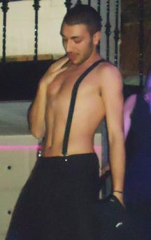 Our hot stripper Soterios @Dada Club