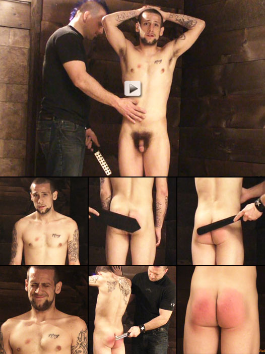 Straight Boy Receives Paddle Punishment