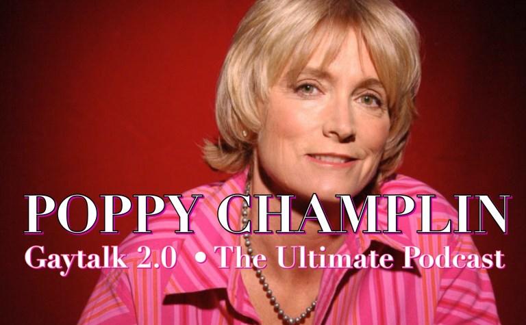 GayTalk 2.0 – Episode 76 – Queer Queens of Qomedy With Guest Poppy Champlin