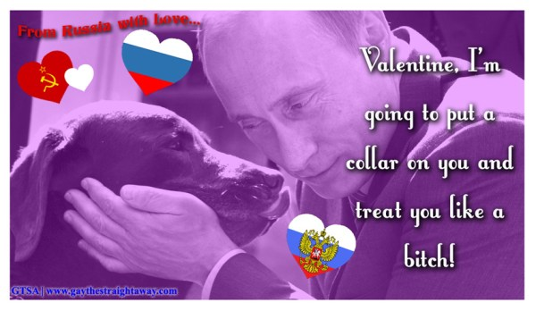 From Russia With Love Share Your Gay Affections With
