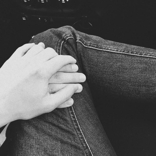 Kevin McHale's Instagram post holding hands.