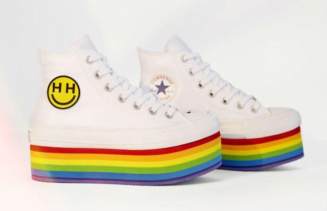 74e9e1dada60 Miley Cyrus designs the Converse Pride 2018 collection – gay news ...